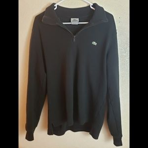 Lacoste Womens Black Long Sleeve Zip up Jacket